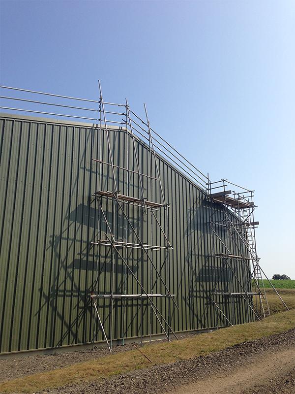 Building Maintenance Safety Netting Damage Repair